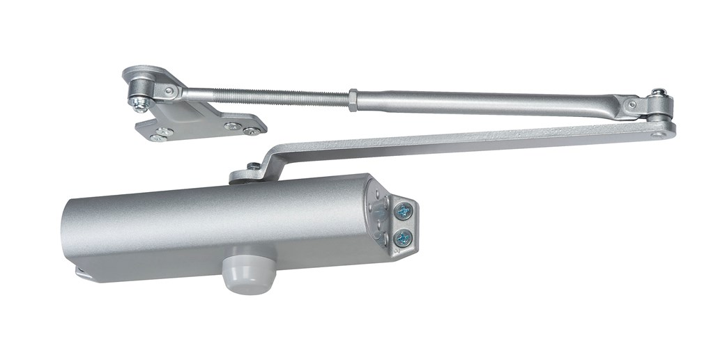 yale ydc200 series economy door closer is a nofuss affordable option for aluminum storefront settings and other high volume